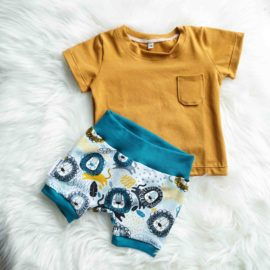 setje short lions en pocket t-shirt