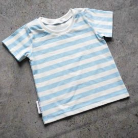 t-shirt stripes blue