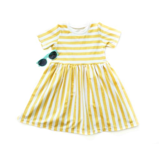 jurkje stripes gold organic