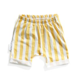 short stripes gold