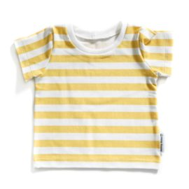 tshirt stripes gold